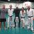 Post training with Brendan Schaub (UFC), Ryron Gracie, Kevin Casey, Kron Gracie, and Dimitri Mavraganis.